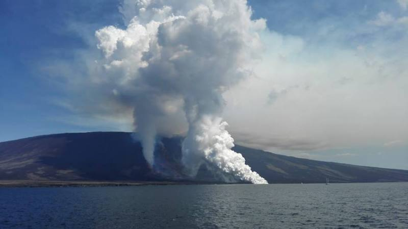 volcano la cumbre galapagos eruption 16 June 2018